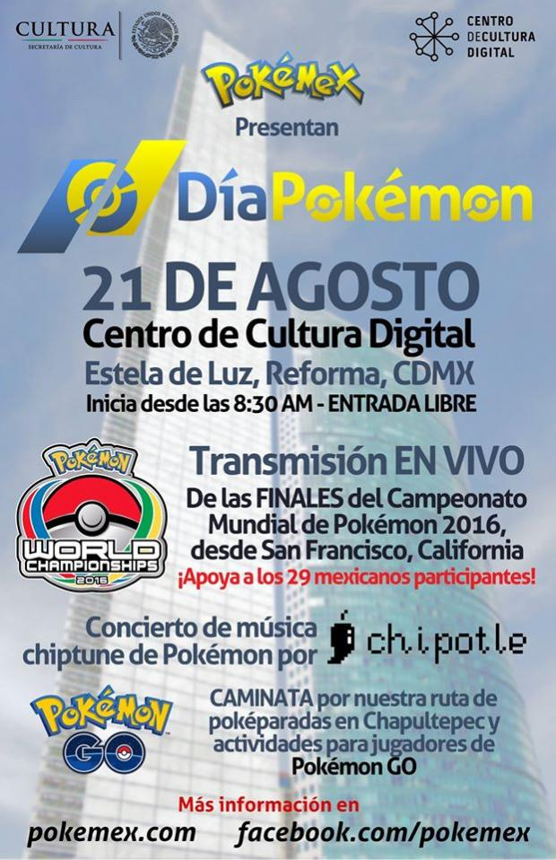 Festival de Pokemon en Mexico