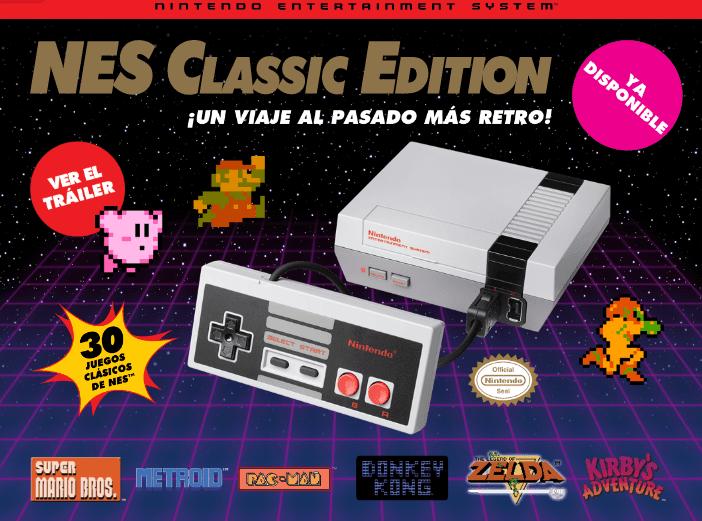 NES Classic Edition regresará a las tiendas