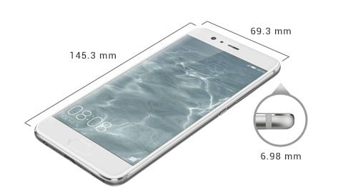 Huawei P10 Dimensiones