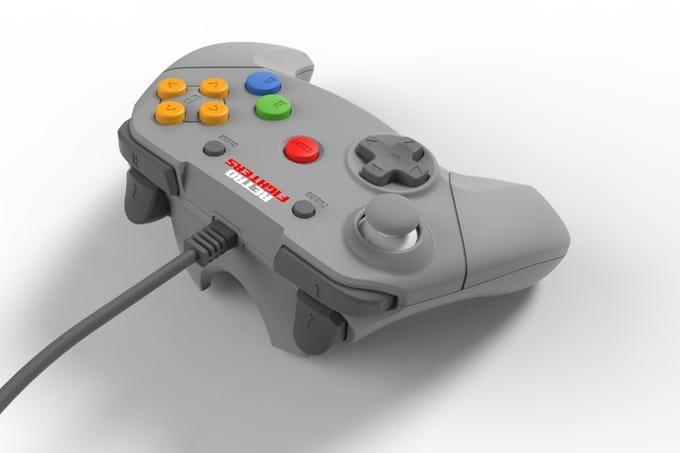 Rediseñaron el control del Nintendo 64