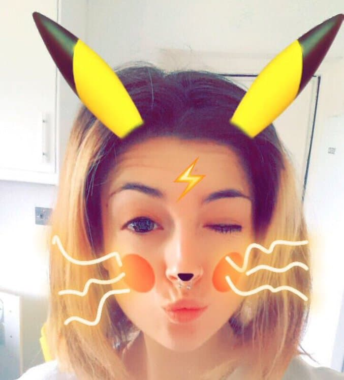 Snapchat estrena filtro de Pikachu