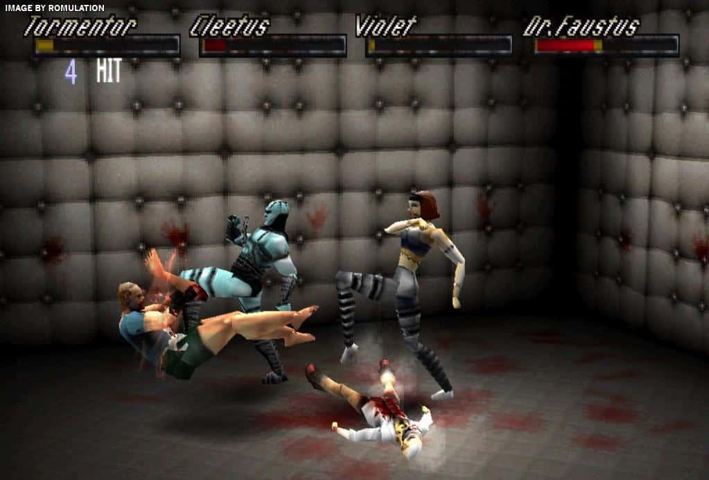 Thrill Kill Gameplay