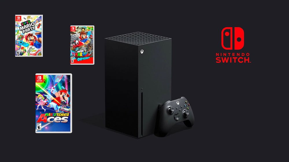 Xbox Series X será compatible con juegos de Nintendo Switch